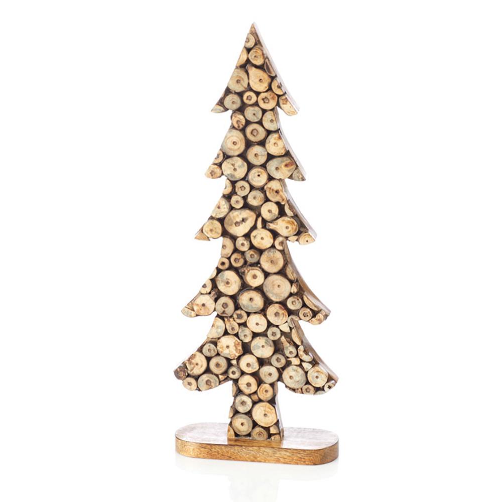 Tall Winter Bough Pine Tree