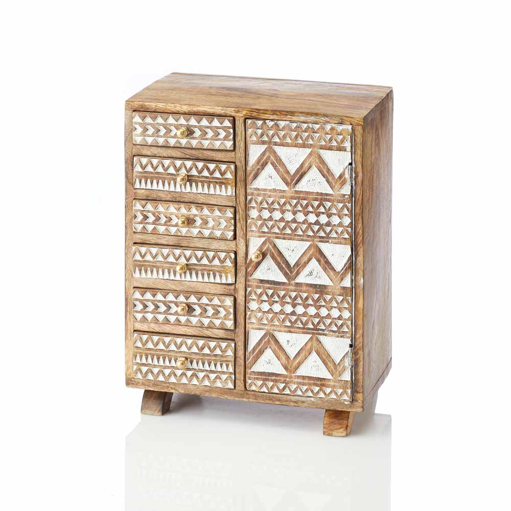 Zig-Zag Jewelry Chest