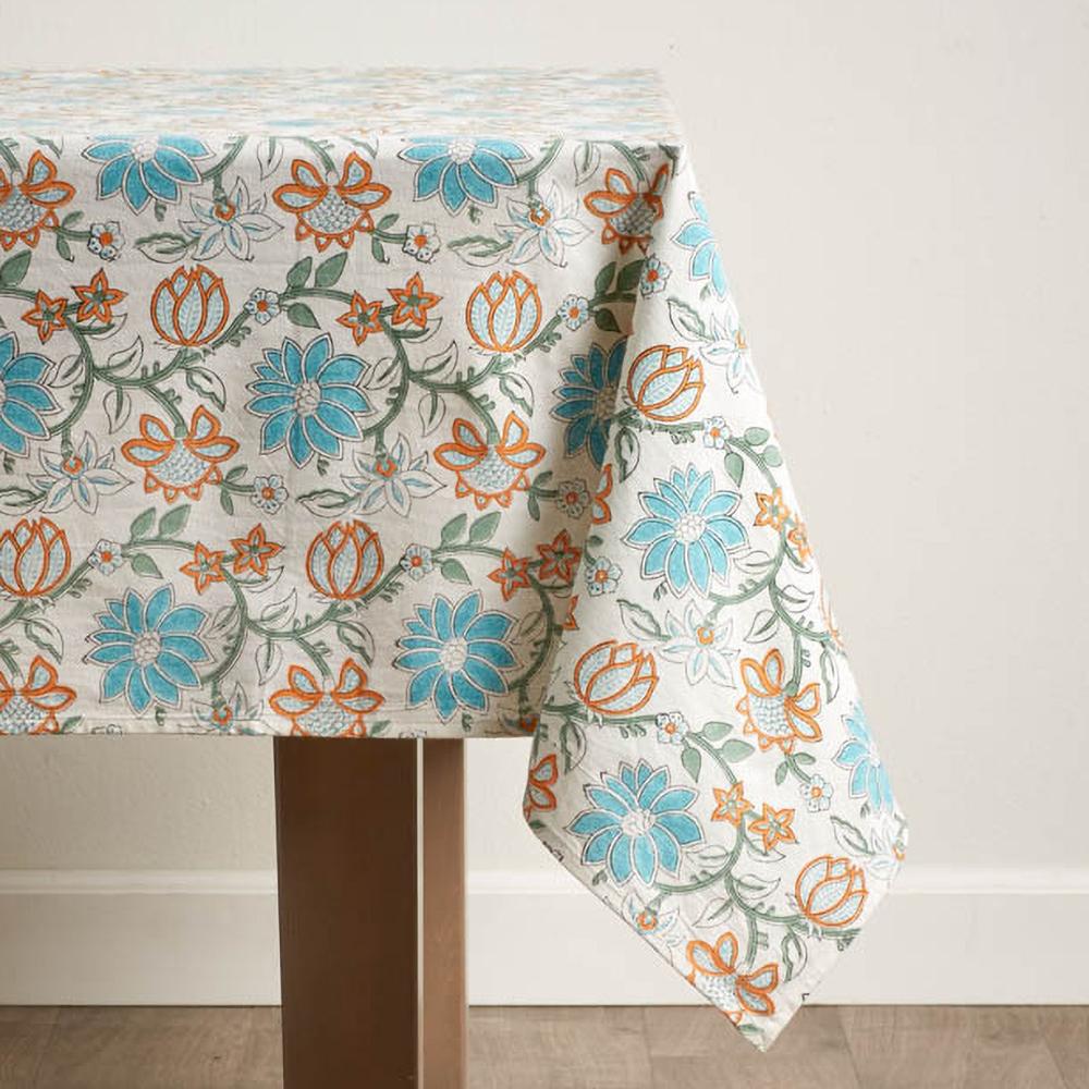 Kamal Lotus Tablecloth