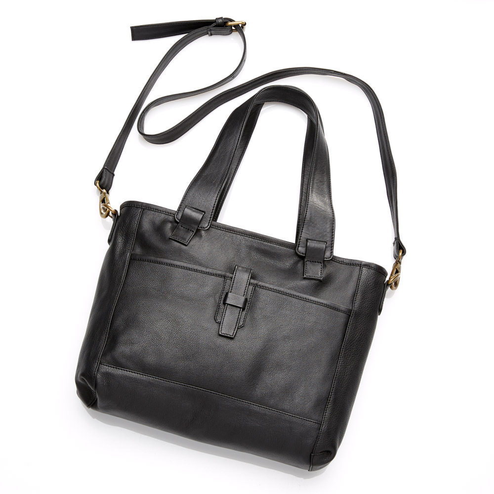 Jet All-for-One Leather Bag