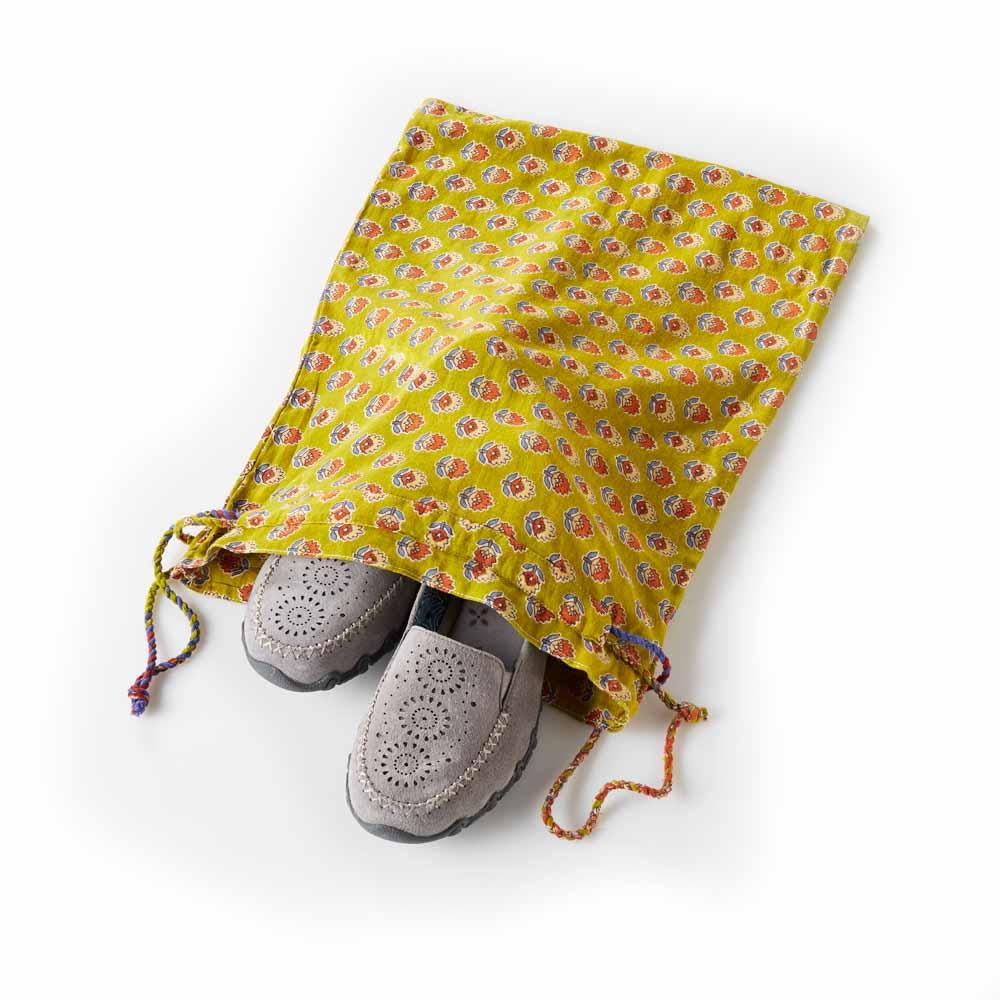 Sari Shoe Bag Set