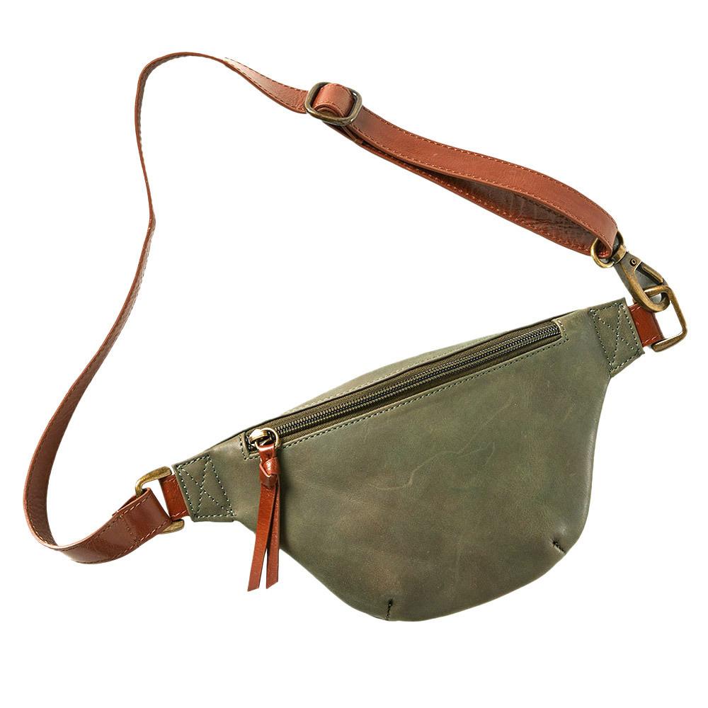 Shilani Leather Waist Bag