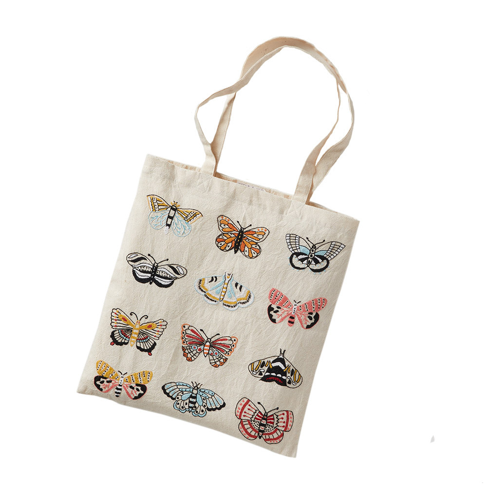 Flutter Butterfly Tote Bag