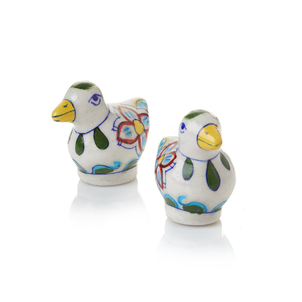 Chidiya Ceramic Salt & Pepper Shakers