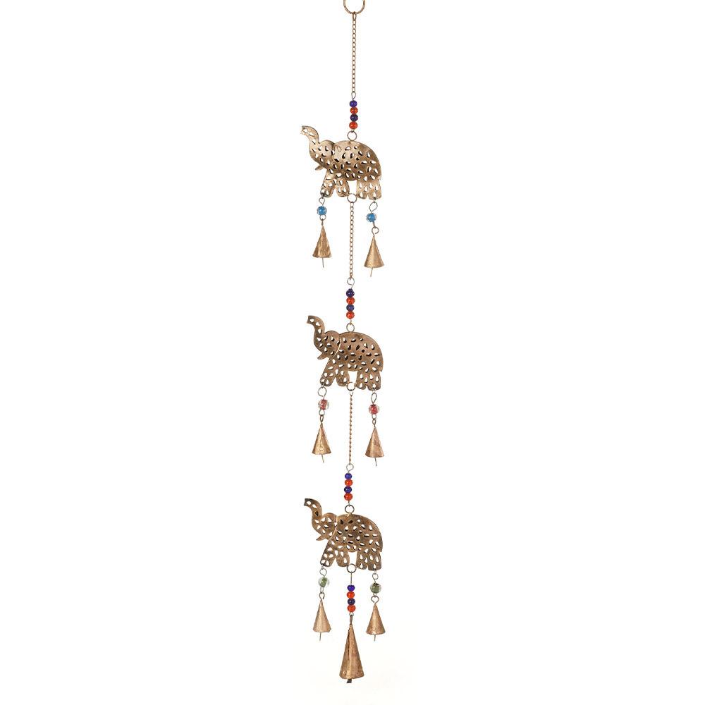 Elephant Herd Bell Hanger