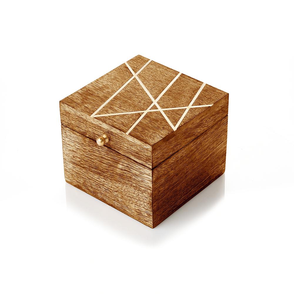 Kala Wooden Keepsake Box