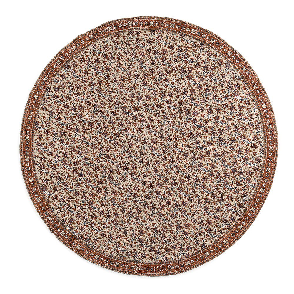 Fall Harvest Round Tablecloth