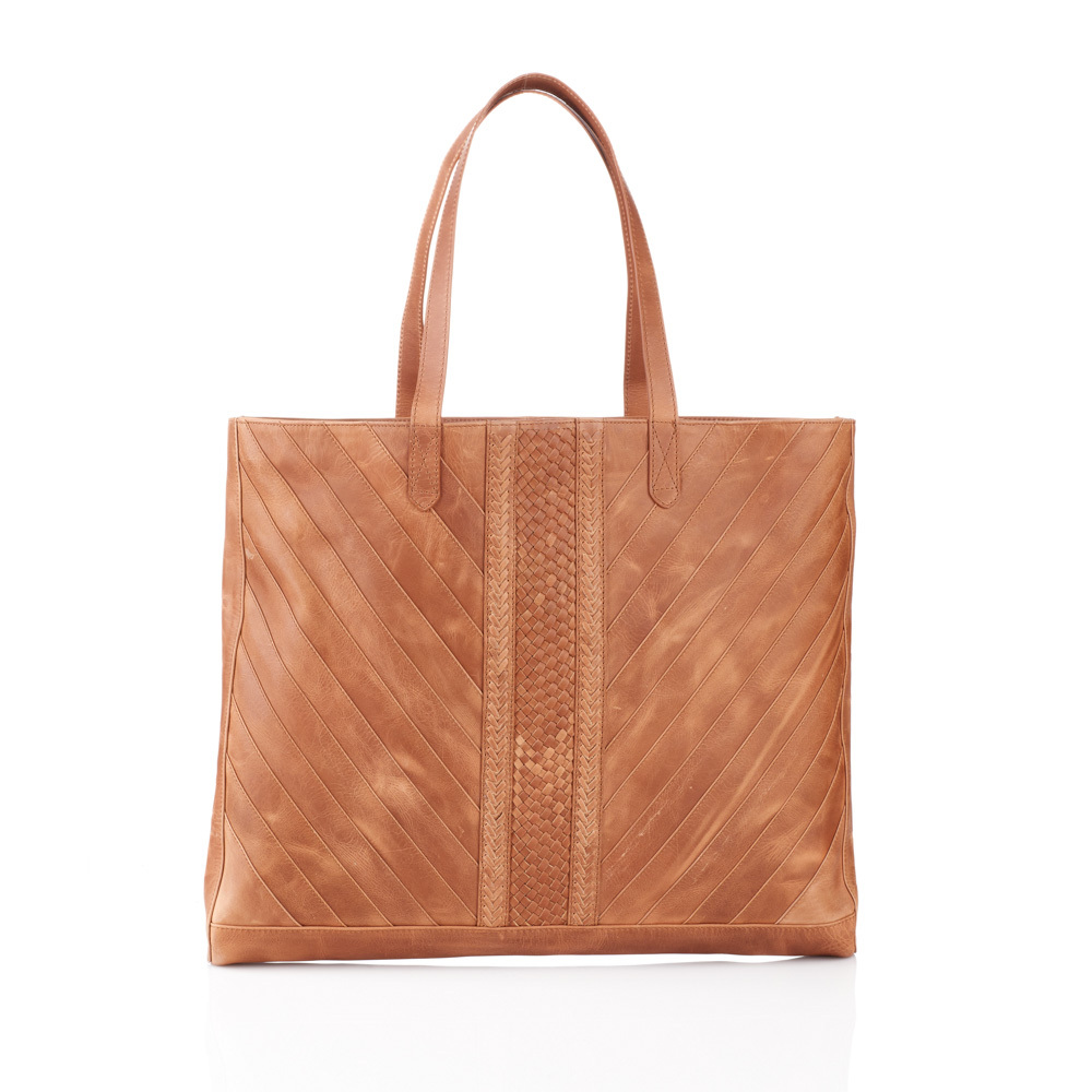 Riya Leather Tote