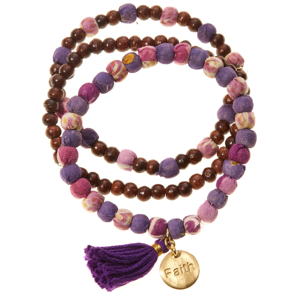 Faith Virtues Bracelets - Set of 3