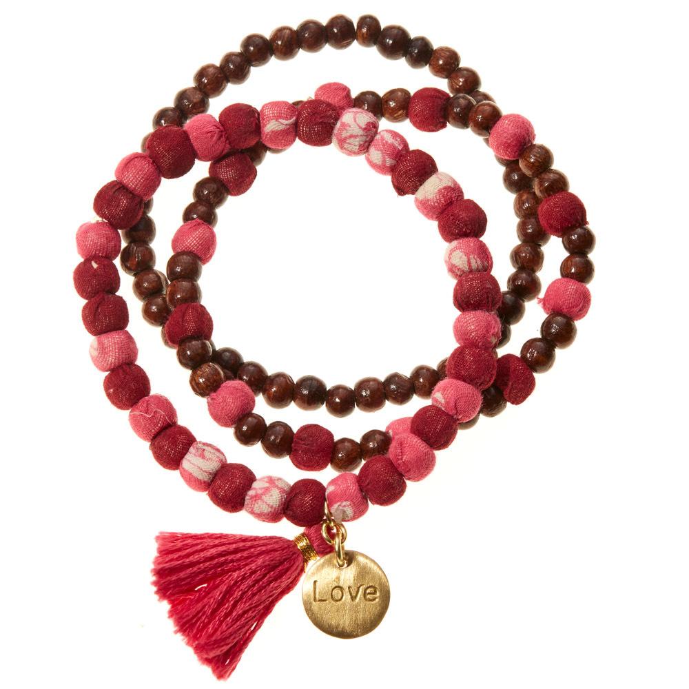 Love Virtues Bracelets - Set of 3