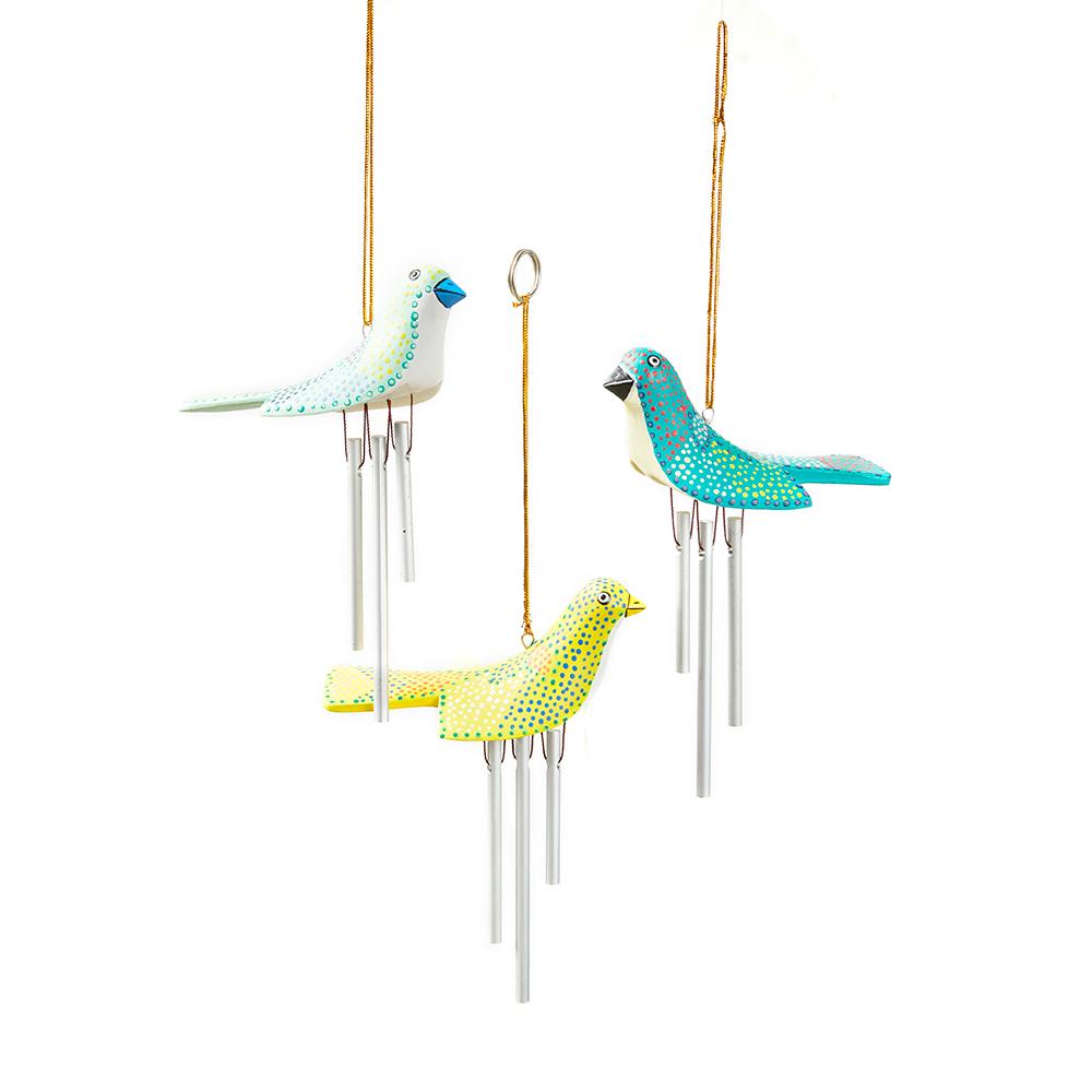 Birdie Wind Chimes - Set of 3
