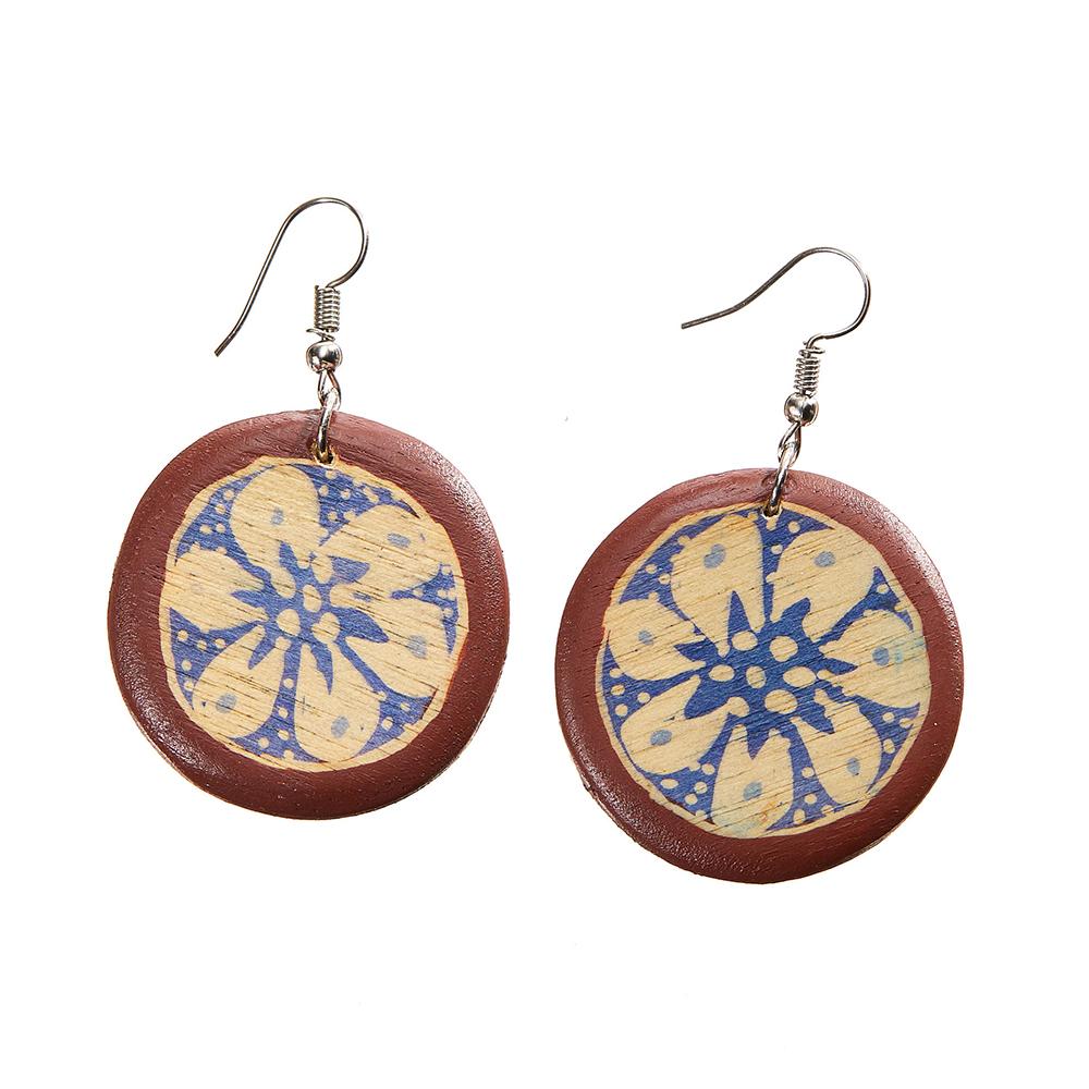 Mikara Batik Earrings
