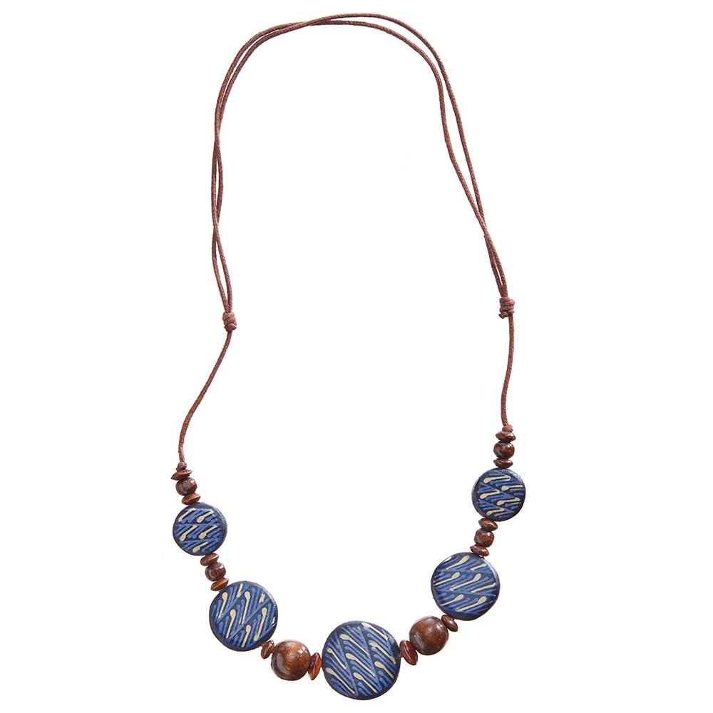 Tegani Batik Necklace