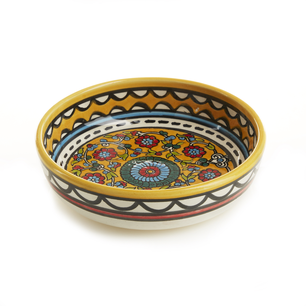 Small Yellow West Bank Bowl