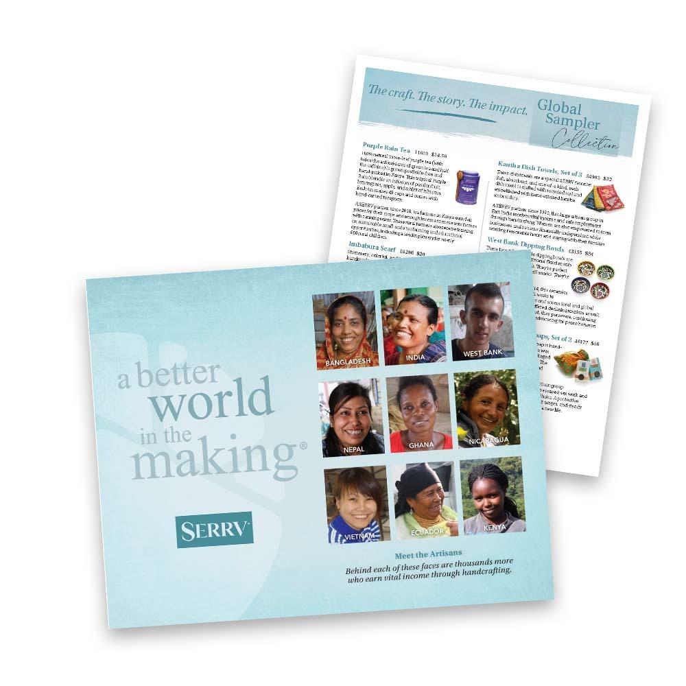 Fair Trade Sampler Kit Sign