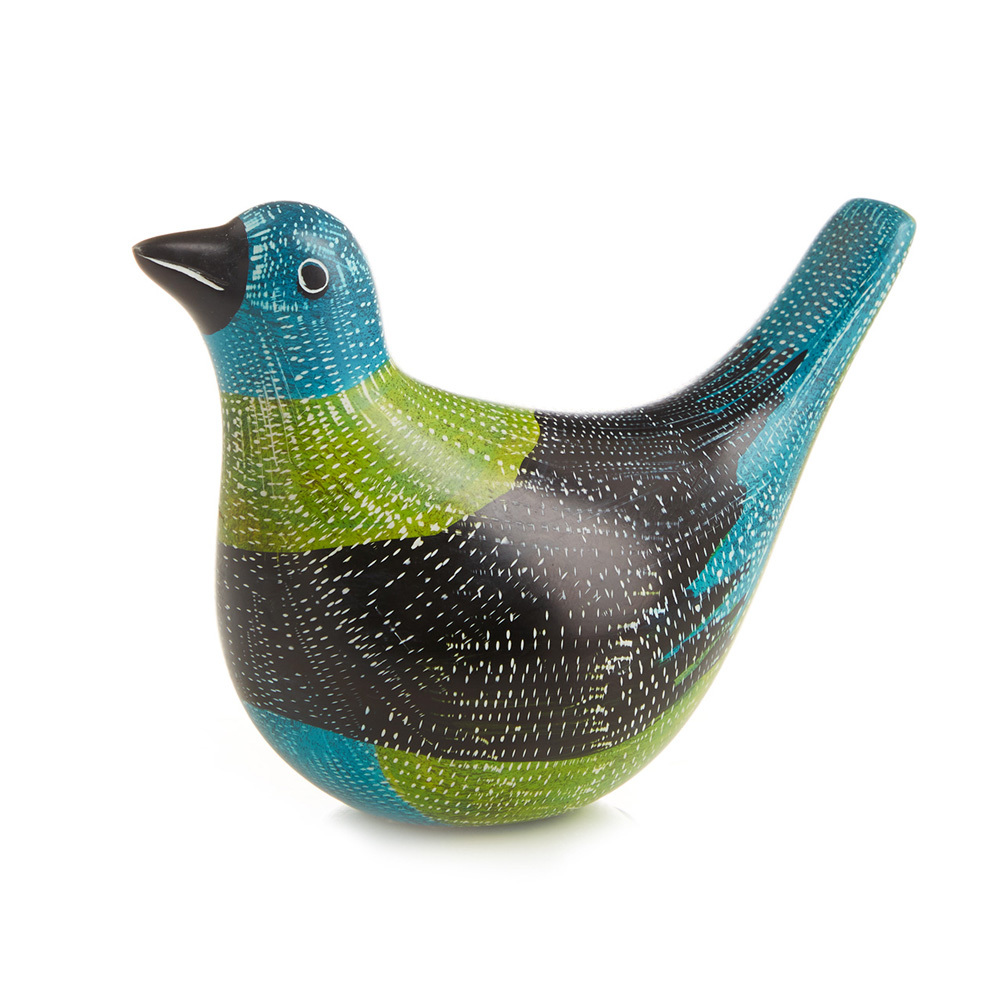 Speckled Soapstone Pigeon