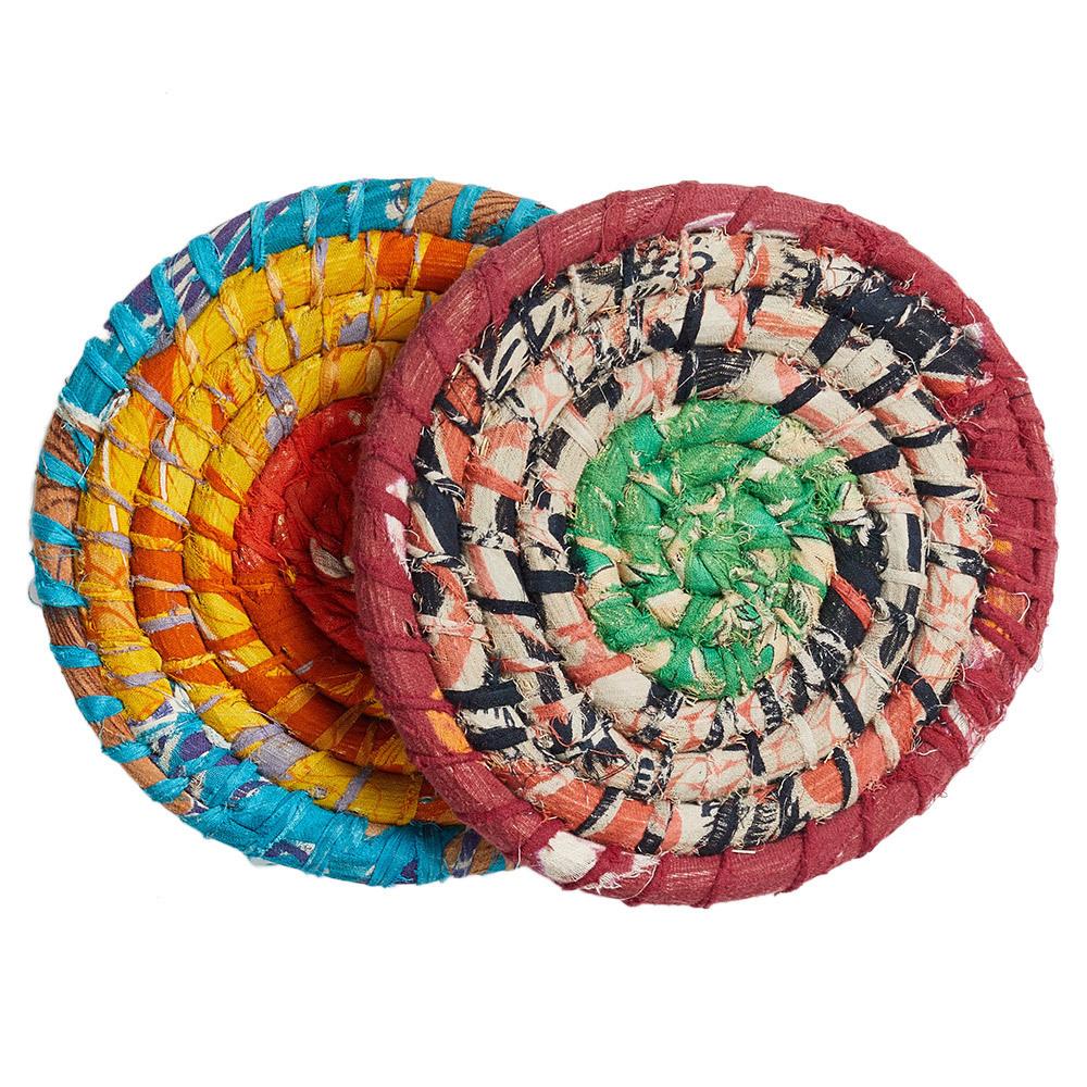 Chindi Wrap Trivet Set