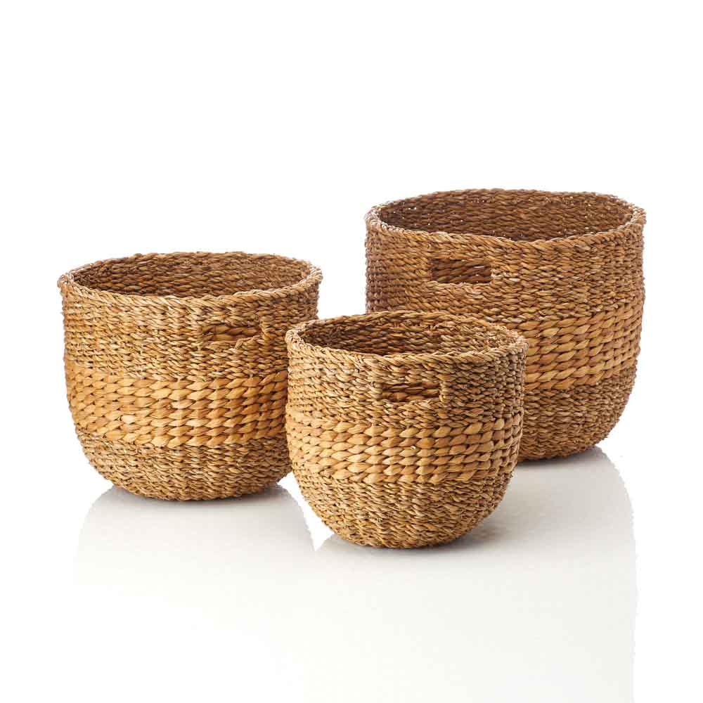 Natural Nesting Baskets Set