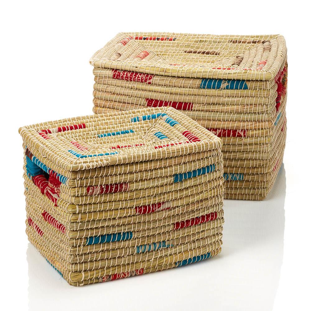 Sari Seagrass Baskets (XL) - Set of 2