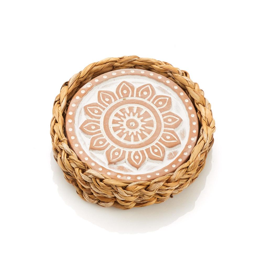 Mandala Warming Coaster