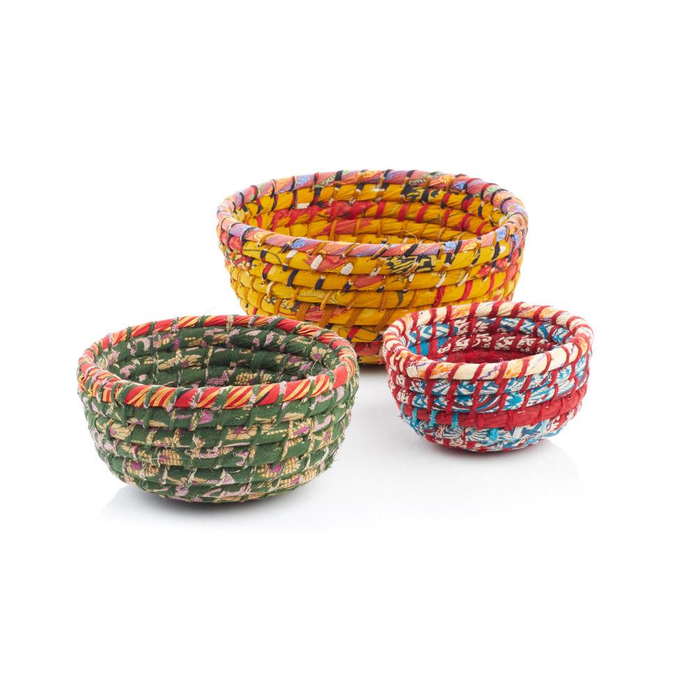 Chindi Round Nesting Baskets - Set of3