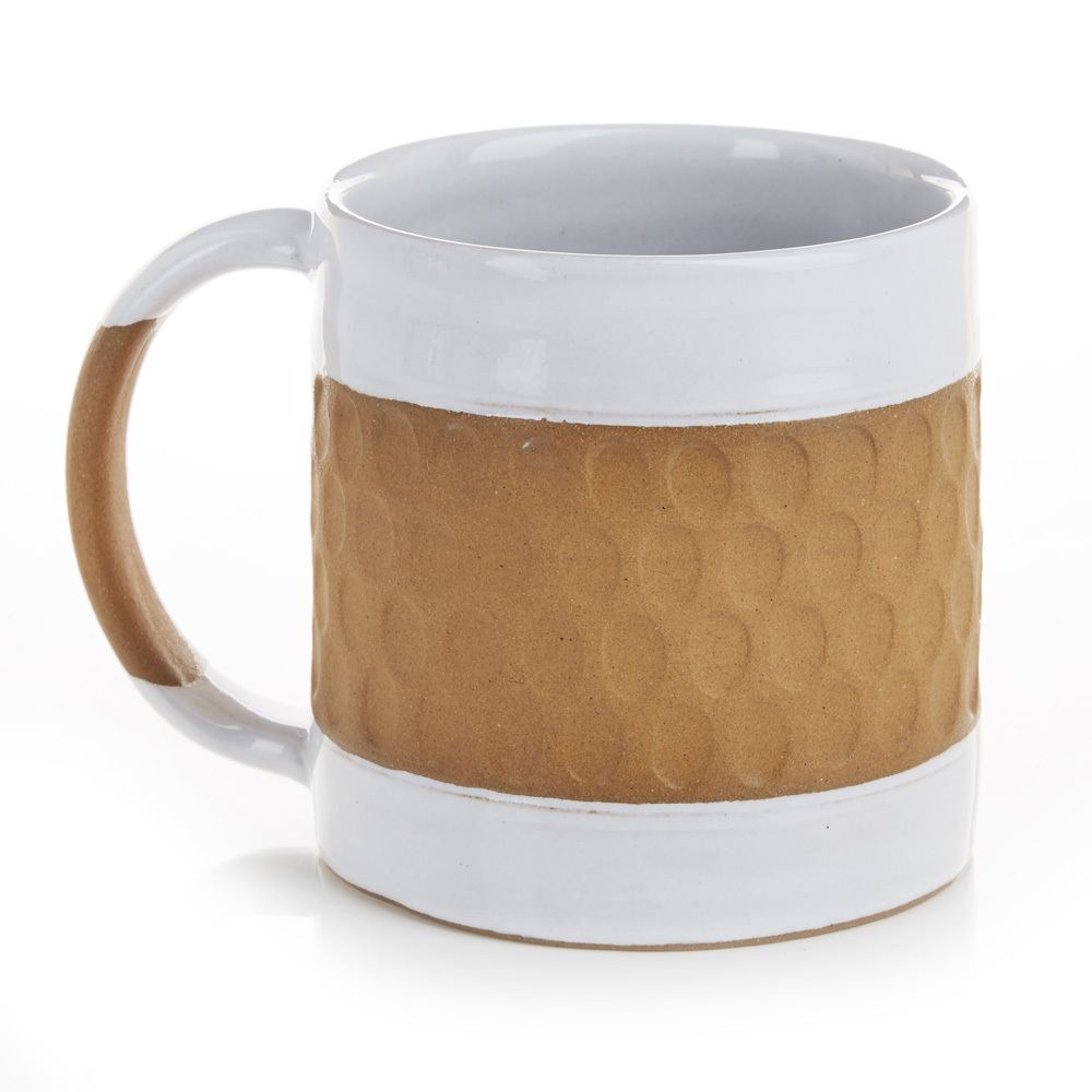 In the Middle Mug - White