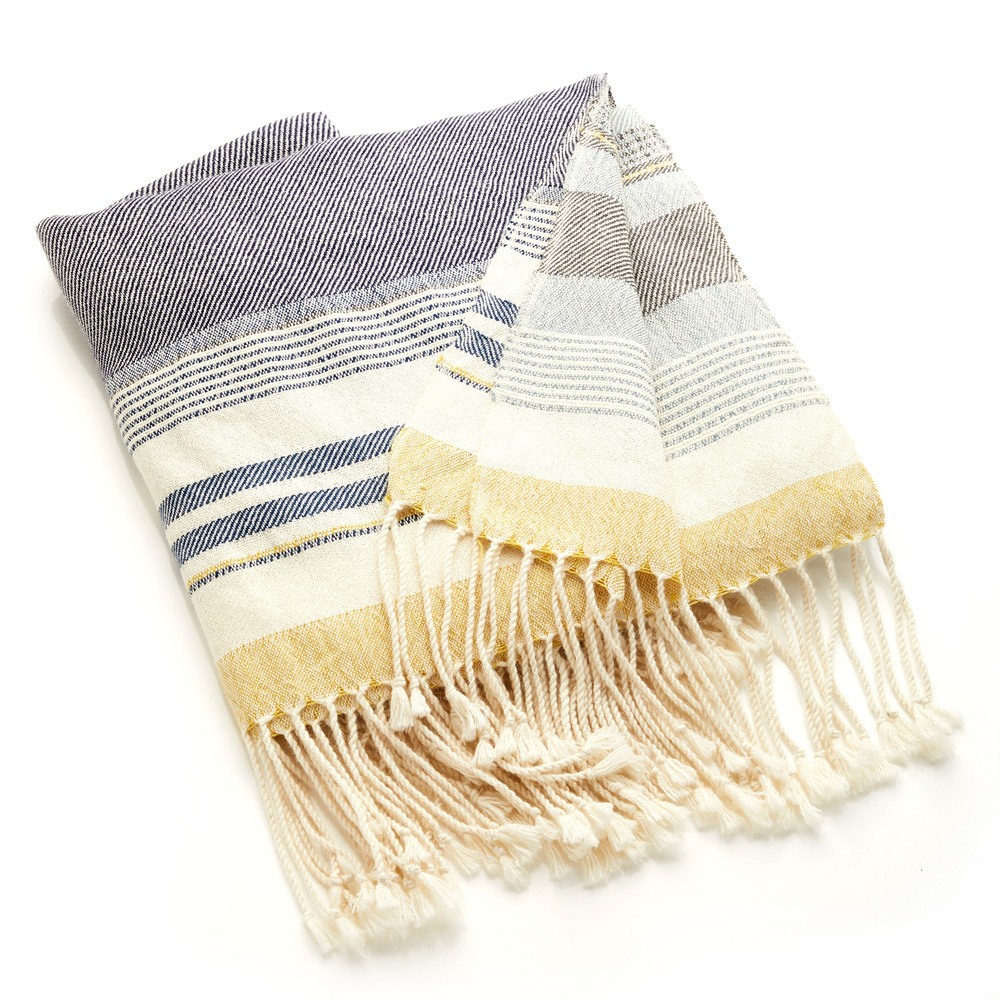 Mantaro Stripe Alpaca Throw
