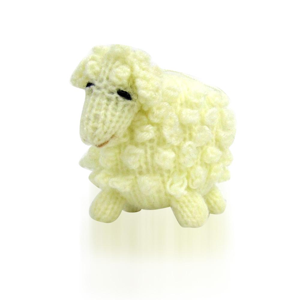 Highland Lamb Ornament - White