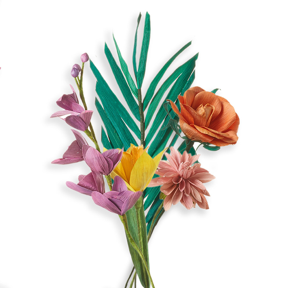 Tropical Corn Husk Bouquet