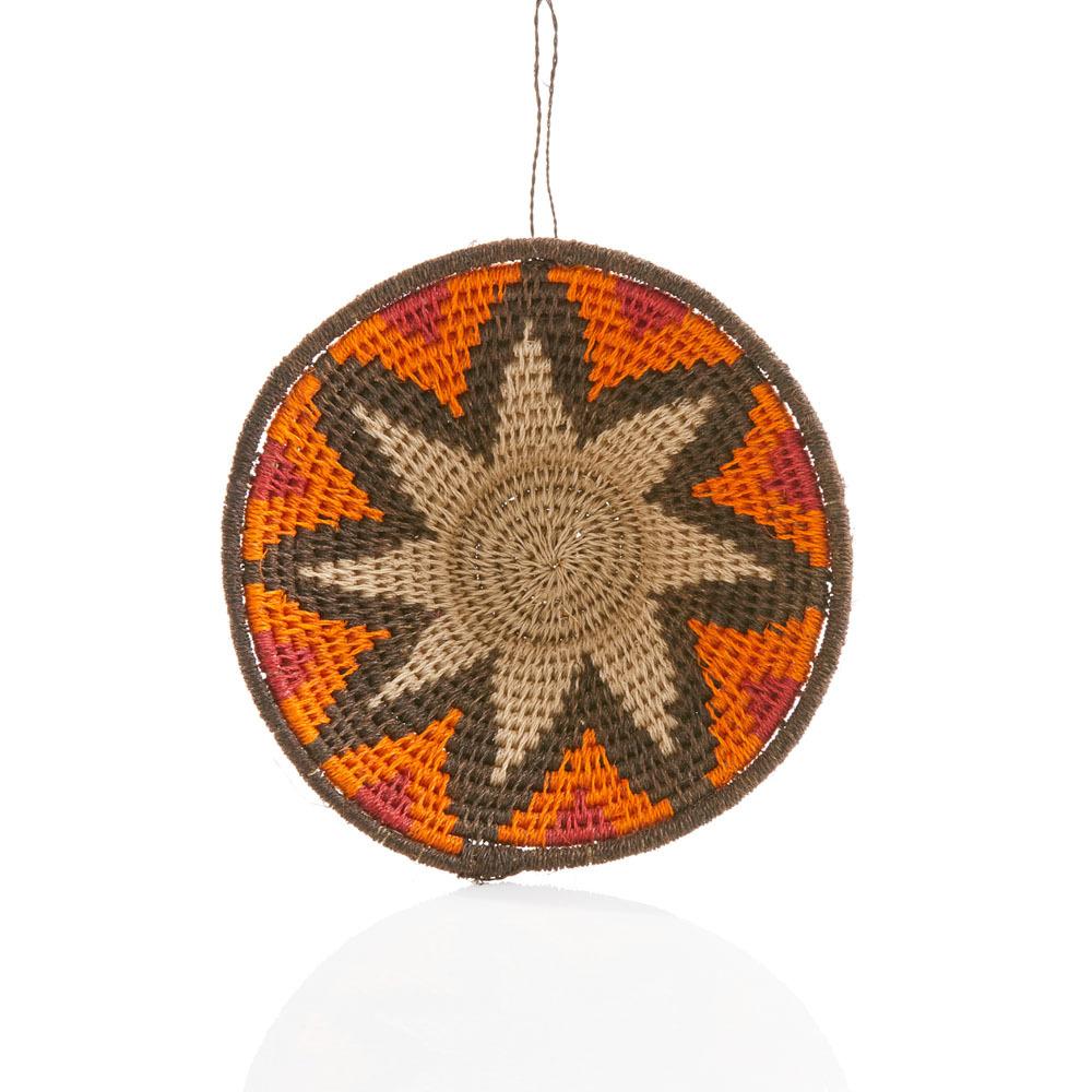 Swazi Star Sisal Basket Ornament