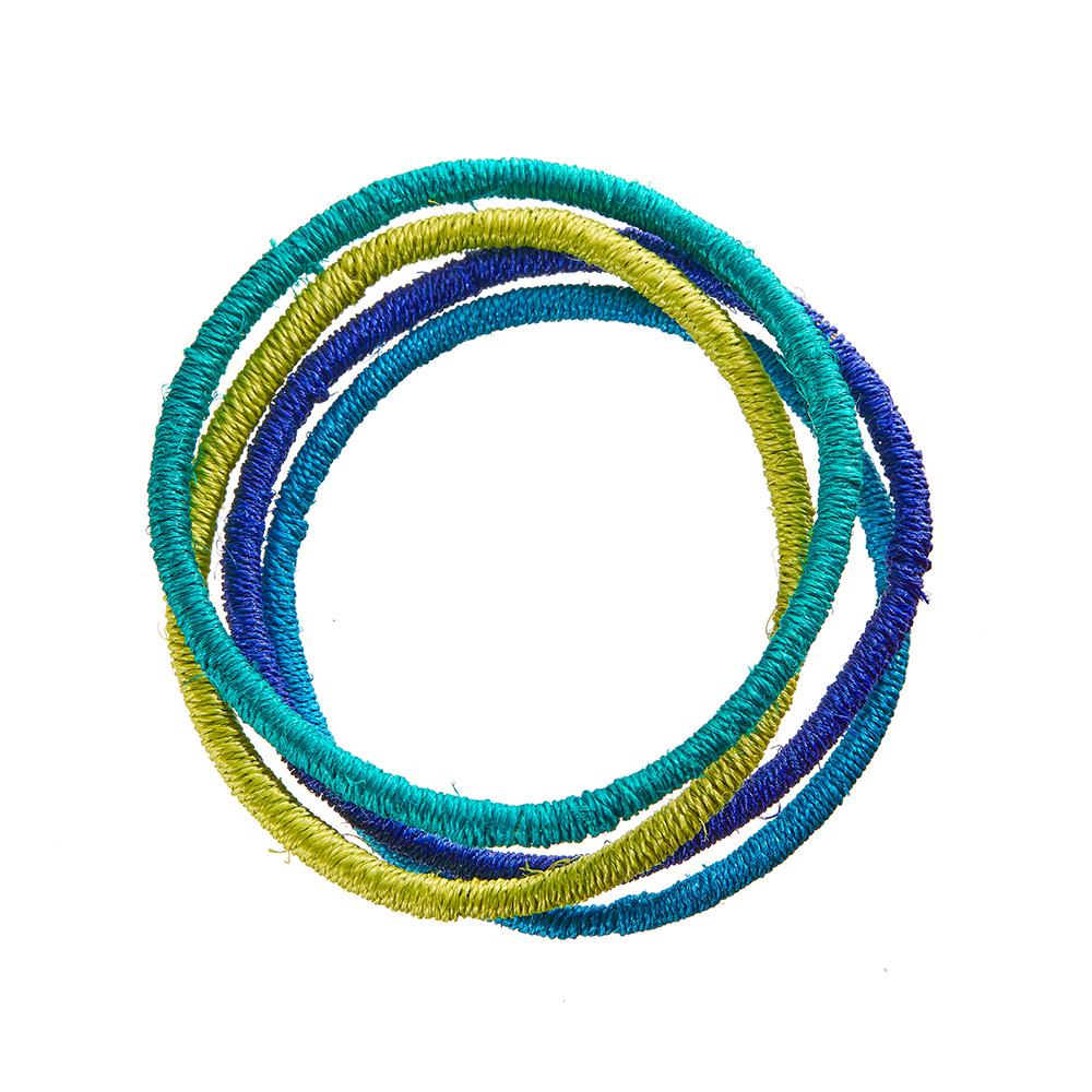 Lomati Woven Bangles - Set of 4