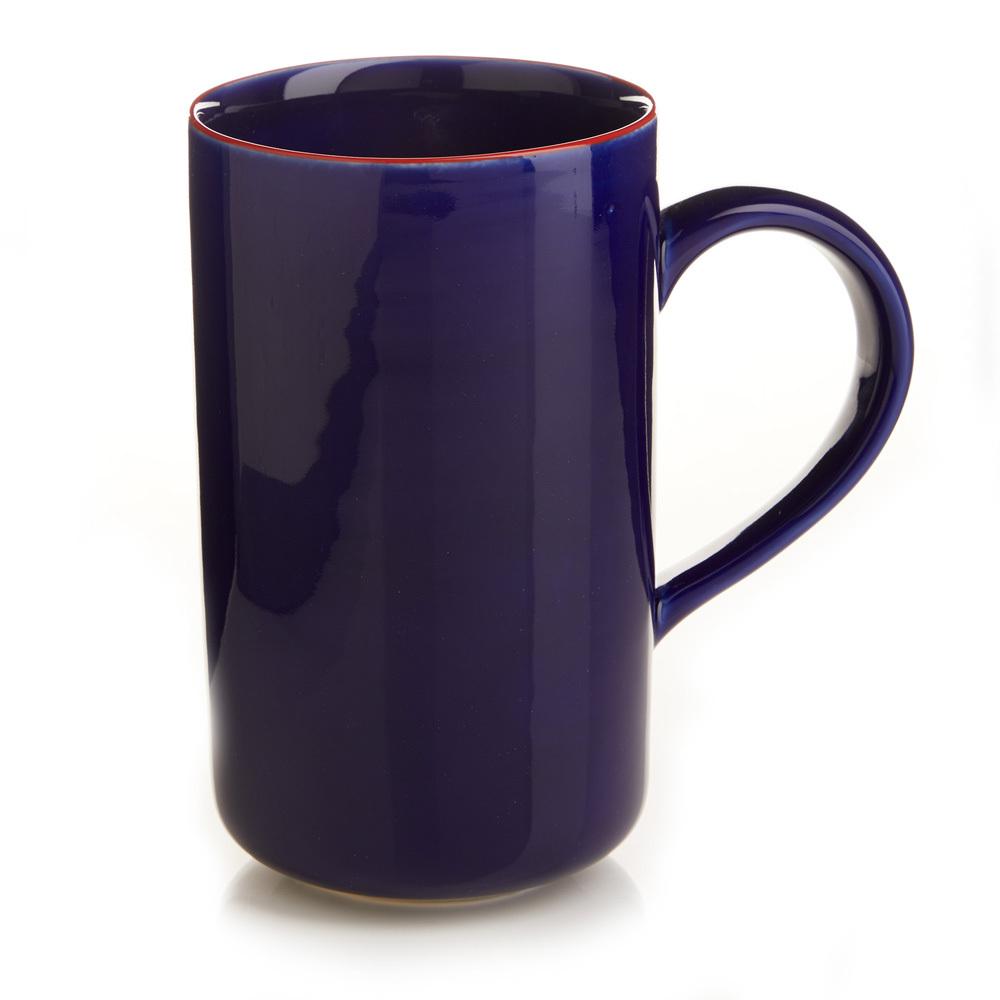 Cobalt Song Cai Latte Mug