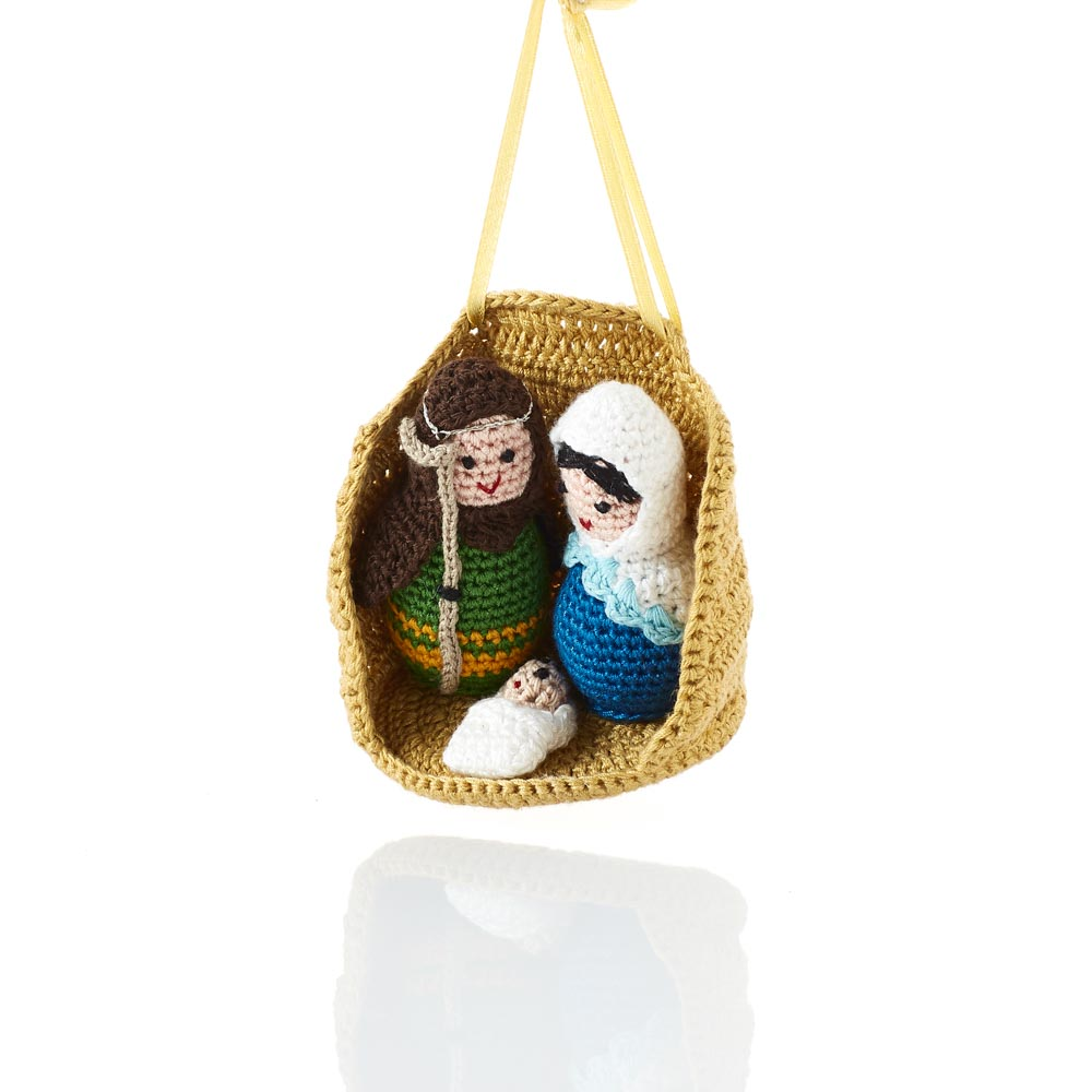 Crocheted Nativity Ornament
