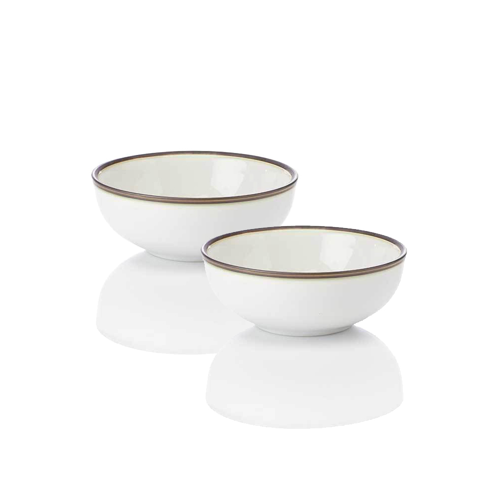 Modern Line Small Bowls, Set of 2