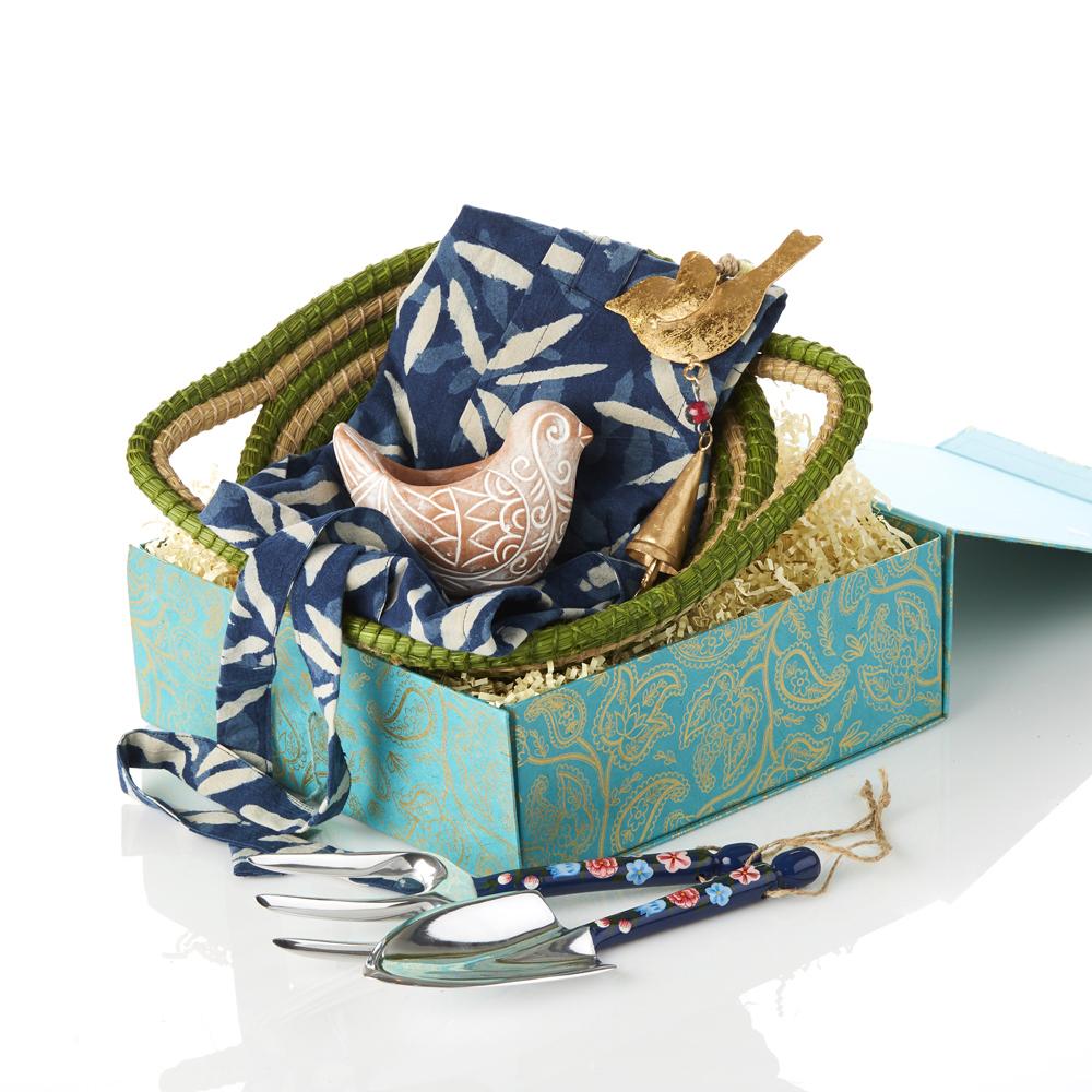 Green Thumb Gardener Gift Basket