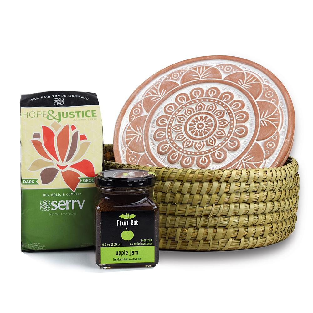 Good Morning Mandala Gift Basket