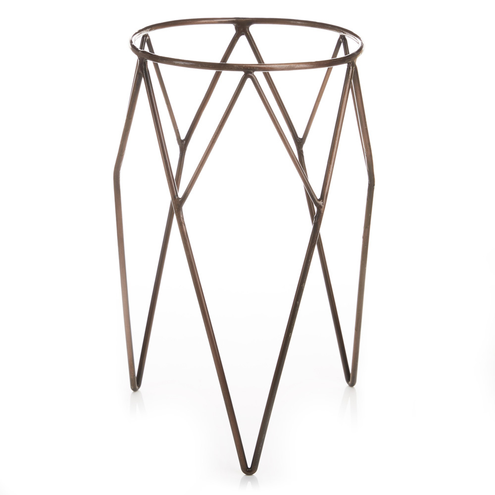 Wire Plant Stands - Set of 2