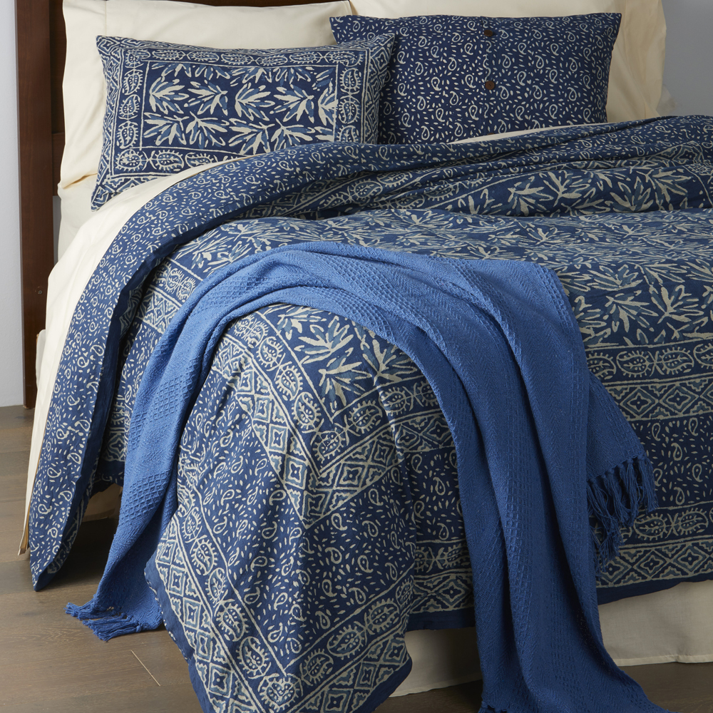 Leaf Dabu Bedding