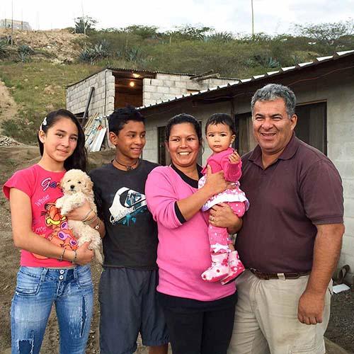 Handcrafters in Ecuador