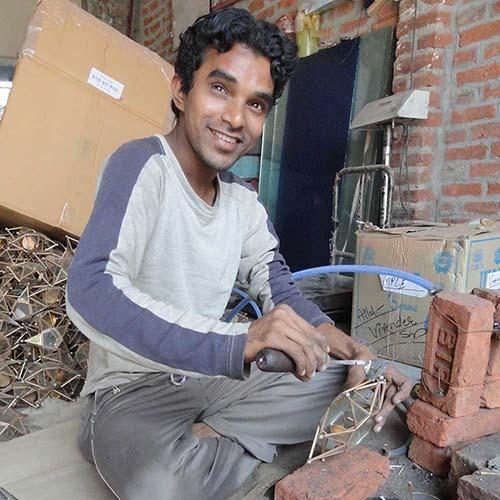 Artisans in Moradabad