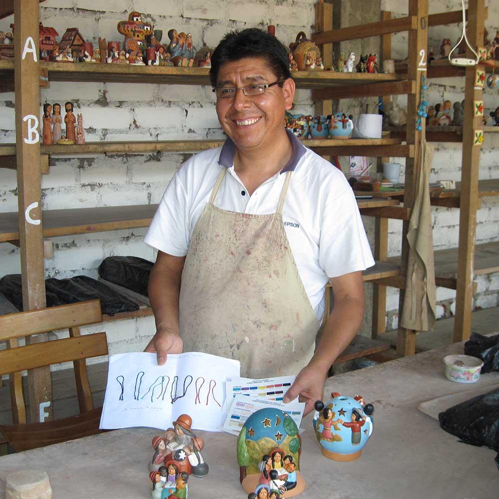 Artisans in Peru