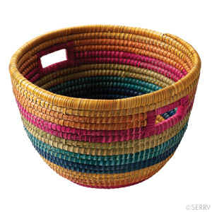 Rainbow Bucket Basket (XL)