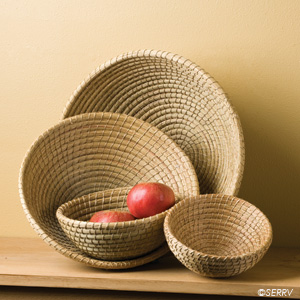 Round Nesting Basket Set