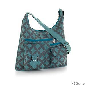 Retro Floral Shoulder Bag