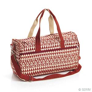 Dots & Diamonds Weekender Bag