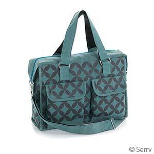 Retro Floral Business Bag