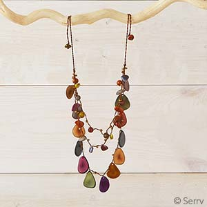 Vistoso Layered Tagua Necklace