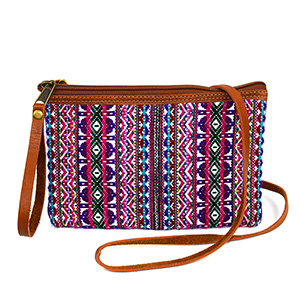 Purple Multi Crossbody Purse
