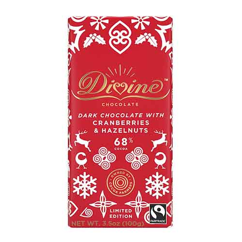 70% Dark with Hazelnuts & Cranberries Large Bar Case