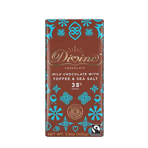 38% Milk Choc Toffee-Sea Salt Lg Bar Case
